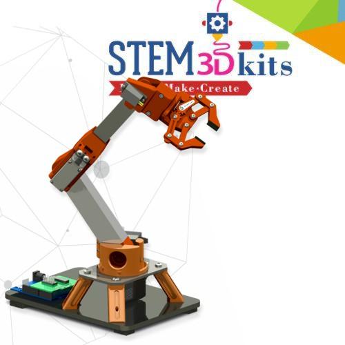 STEM3Dkits-EDU-Robot Arm