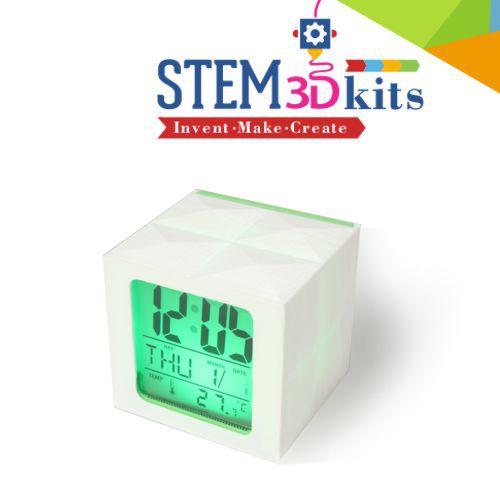STEM3Dkits LED Clock