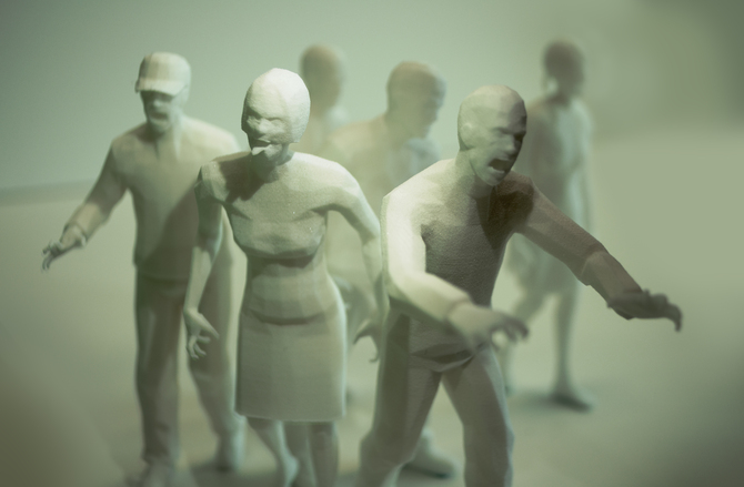 """""""Zombie Horde"""" Andrew Leck, Andrew Stairs & Duncan Withers"""