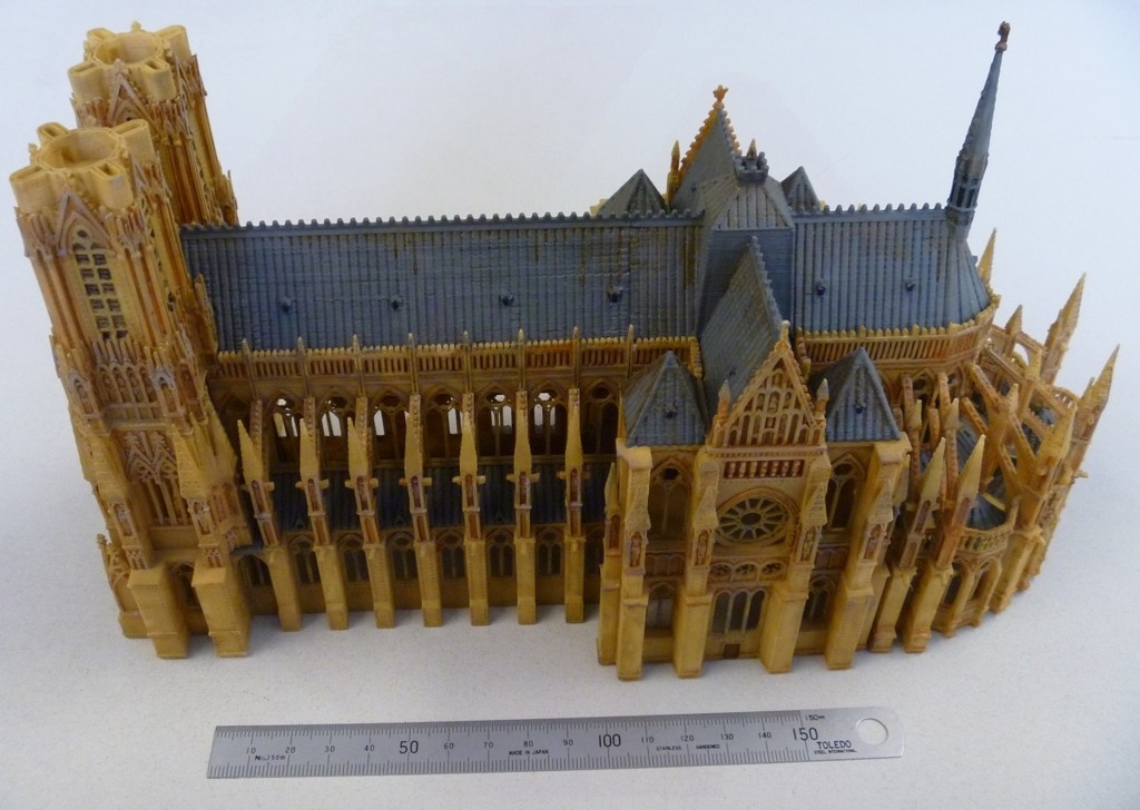 Reims Cathedral Kitset