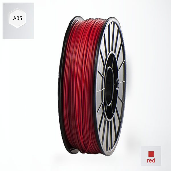 2 x 500g reels Red UP ABS+ Premium Filament (1 kg)