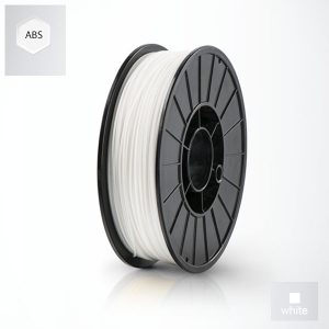 2 x 500g reels White UP ABS+ Premium Filament (1 kg)