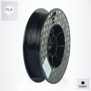 2 x 500g reels Black UP PLA Filament (1 kg)