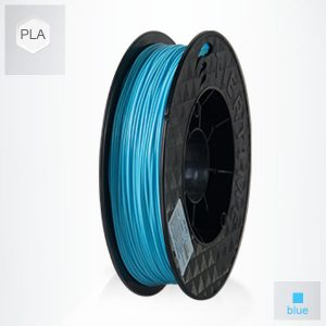 2 x 500g reels Blue UP PLA Filament (1 kg)