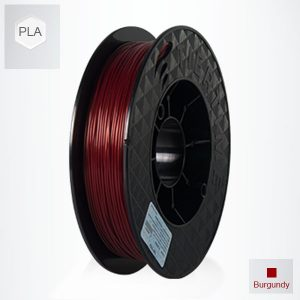 2 x 500g reels Burgundy Red UP PLA Filament (1 kg)