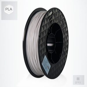 2 x 500g reels Grey UP PLA Filament (1 kg)