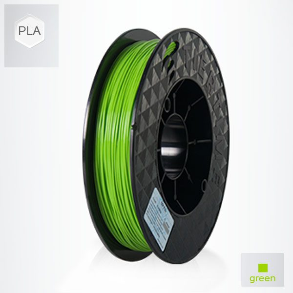 2 x 500g reels Green UP PLA Filament (1 kg)