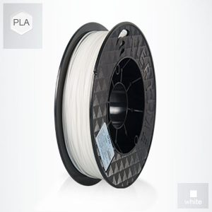 2 x 500g reels White UP PLA Filament (1 kg)