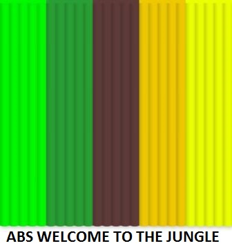 ABS Colour Pack - free delivery for minimum 3 x packets on special