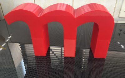 3D Printed M