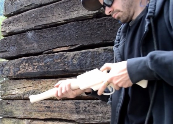14 shots out of a 3D printed rifle