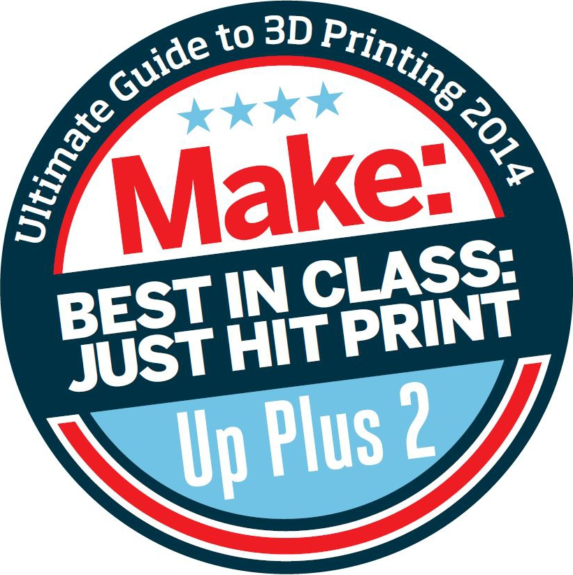 "UP Plus 2 Wins ""Best in Class: Just Hit Print"""