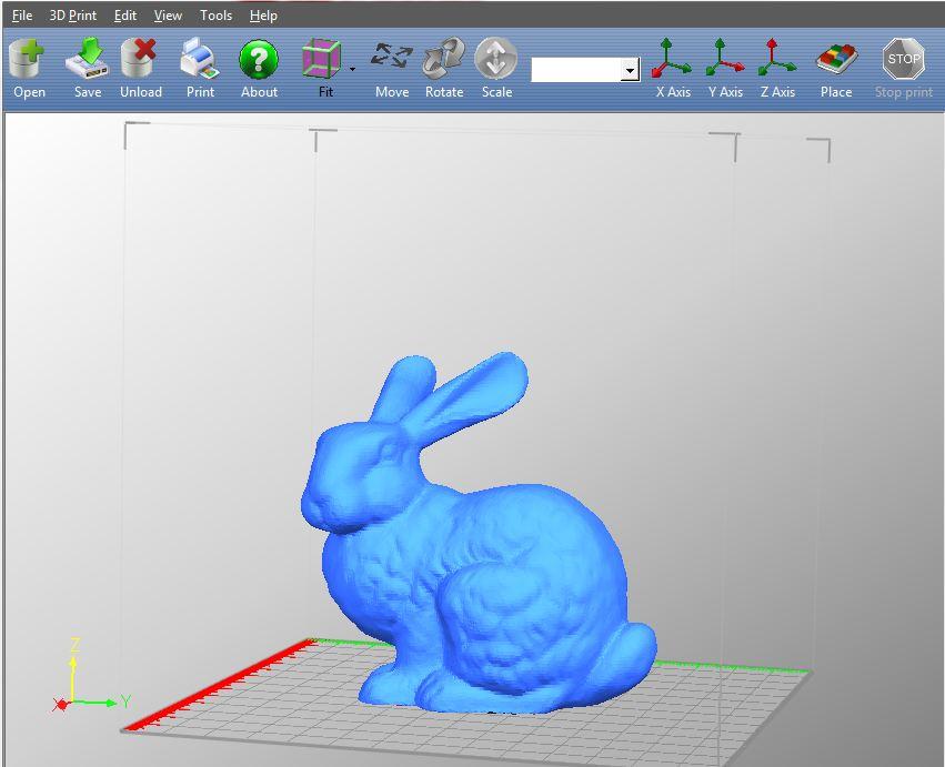 UP!-Software-screenshot