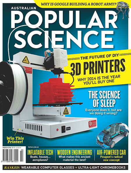 Australian Popular Science – The Future of 3D Printers