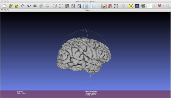 3D Printing your brain, a quick how to.